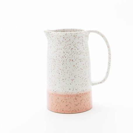 Dipped Speckled Jug