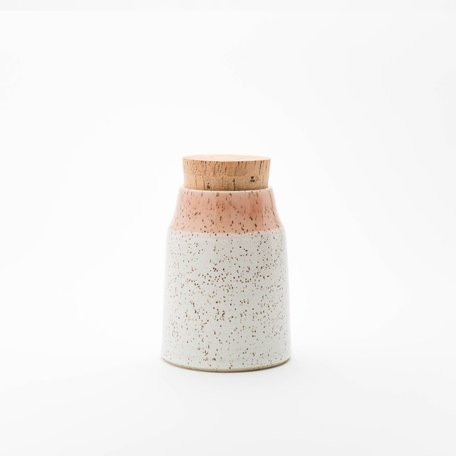 Dipped Speckled Mini Canister