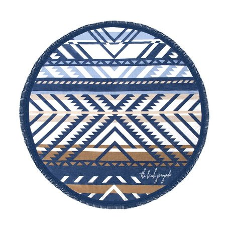The Beach People Round Towel -Lorne
