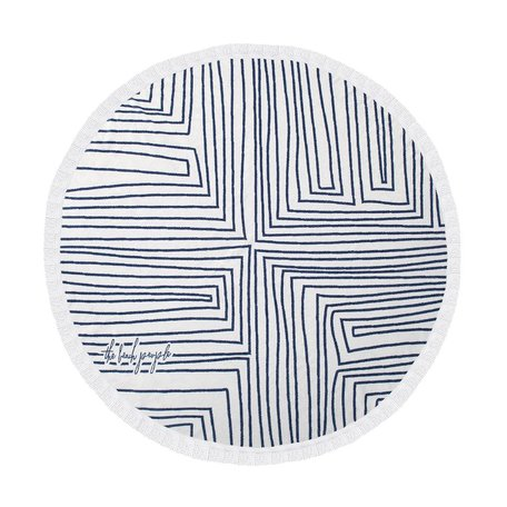 The Beach People Round Towel -Avalon