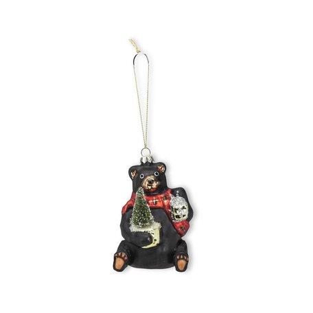 Black Bear w/Tree Ornament