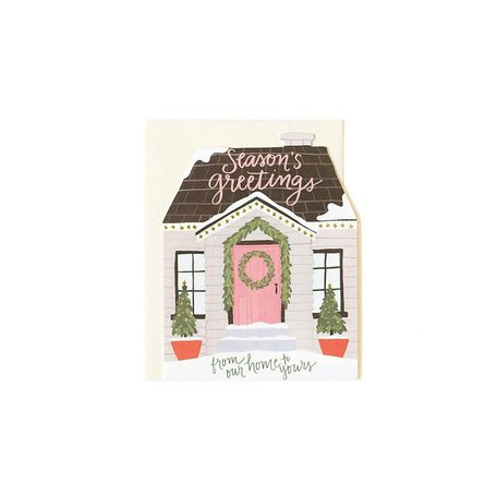 Holiday House Cut Out Card Box/8