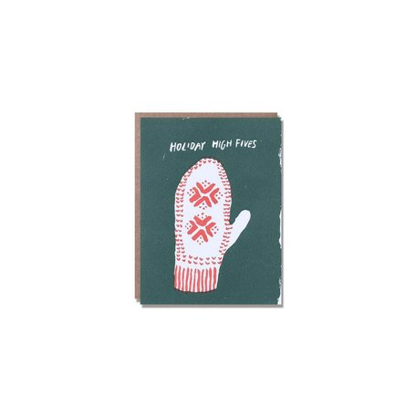 Holiday High Five Card