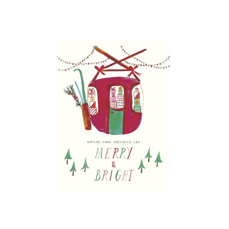 Santa's Gondola Card