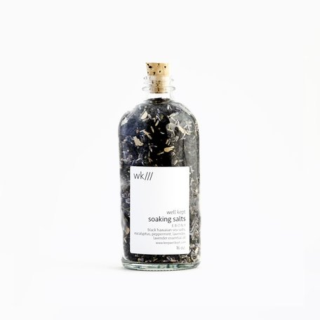 Ebony Soaking Salts 16oz