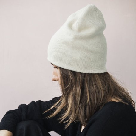 Andes Beanie -Ivory