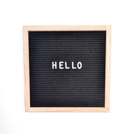 Letterboard -Black