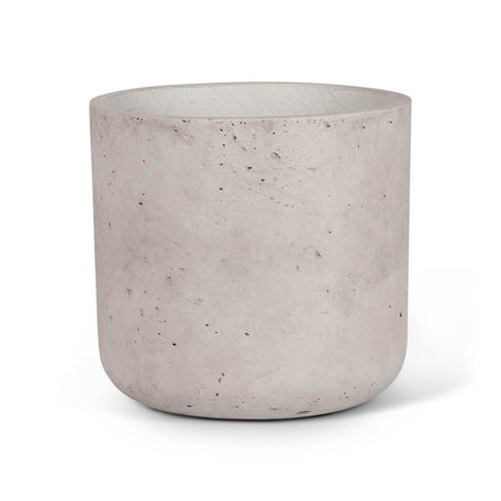 Concrete Planter -Lg/Grey
