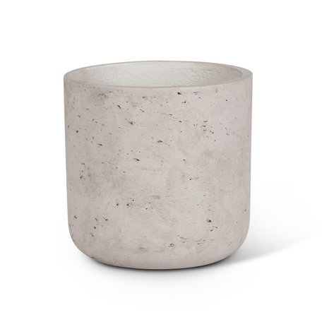 Concrete Planter -Med/Grey