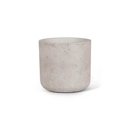 Concrete Planter -Sm/Grey