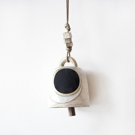 Crescent / Black Round Bell -Small