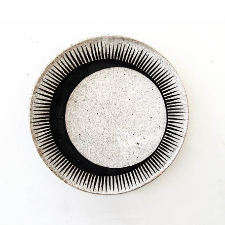 Black Cresent Eclipse Dish -Large