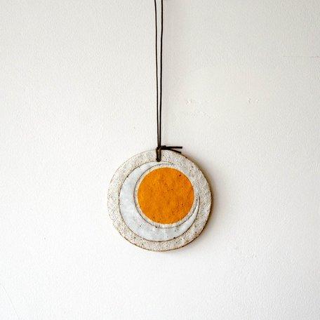 Marigold Crescent Ornament -Large