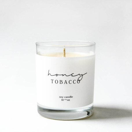 Honey Tabacco Candle