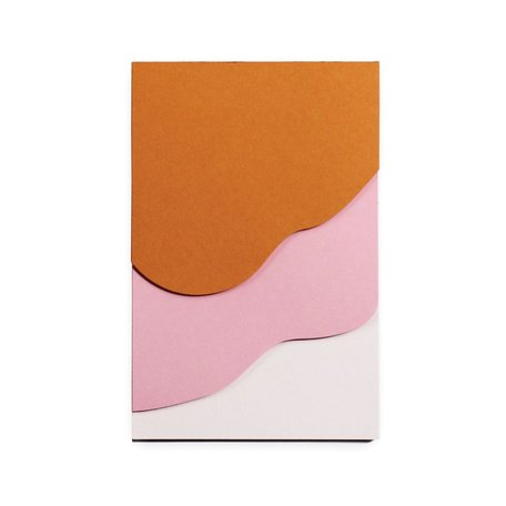 Tapestry Jotter -Pink