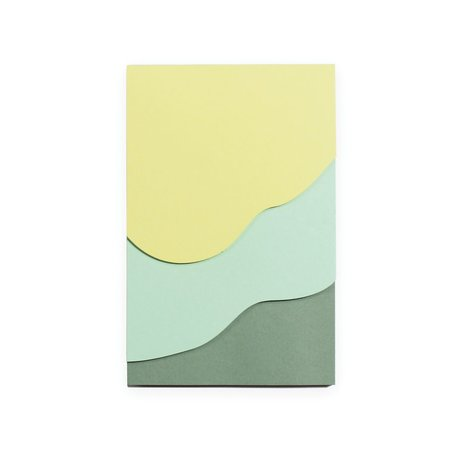 Tapestry Jotter -Green