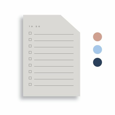 Colourblock Pad -Small A