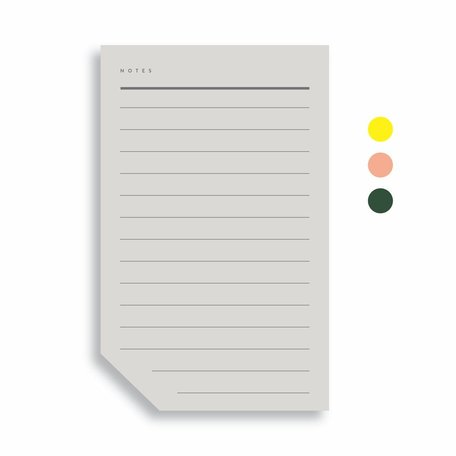 Colourblock Pad -Large A
