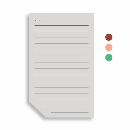 Colourblock Pad -Large B