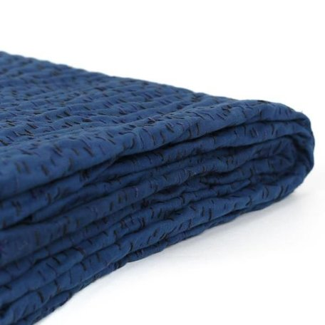 Umbra Throw - Indigo Kantha