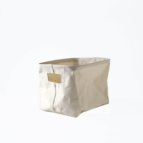 Canvas Rectangle Basket -Small