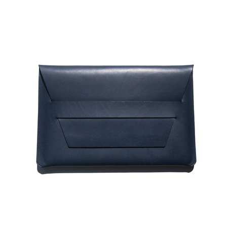 Portfolio Laptop Case -Navy 14x9""