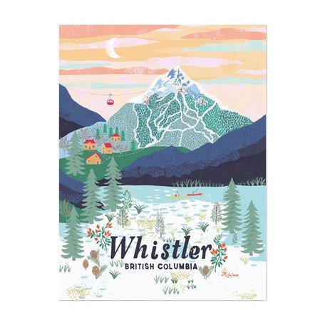 Whistler Print 12x16