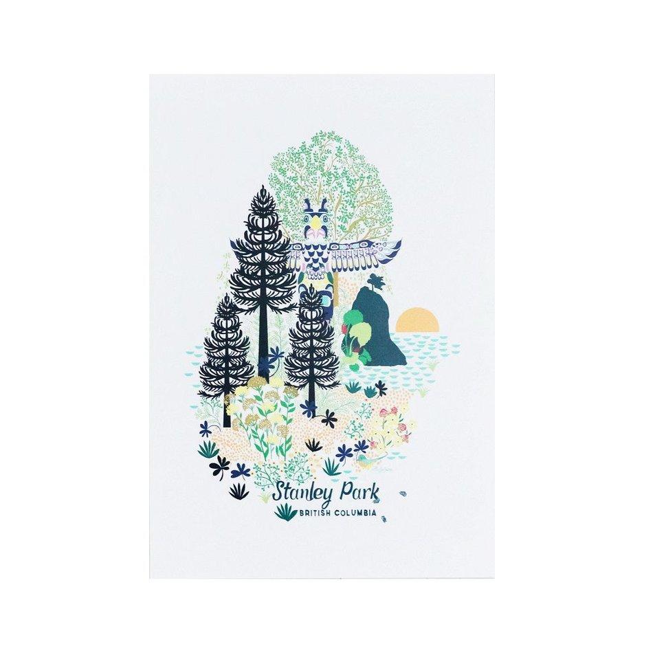 stanley park print 12x16 nineteen ten home boutique