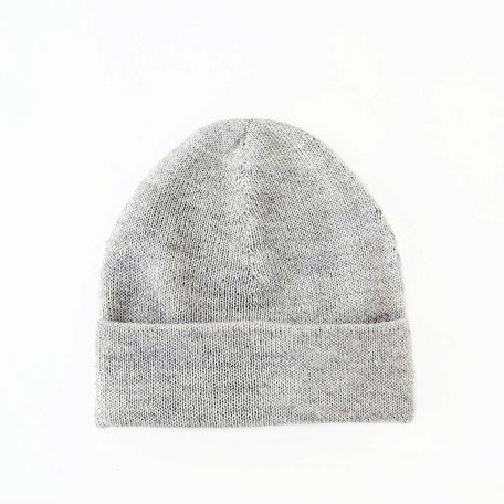 Fine Beanie -Light Grey