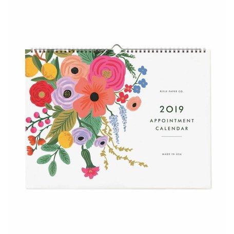 2019 Garden Party Appointment Calendar