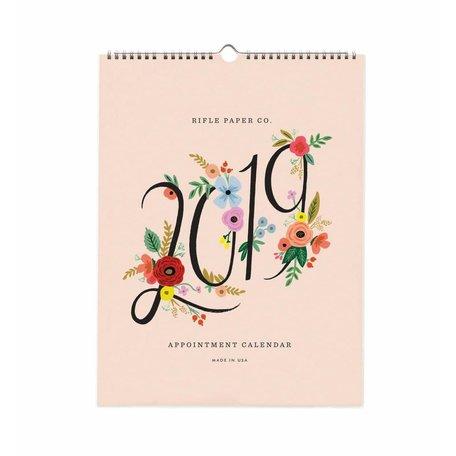 2019 Bouquet Appointment Calendar