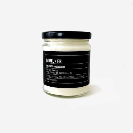 Soy Candle -Laurel + Fir
