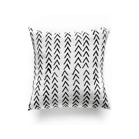 White Mudcloth Cushion -Range