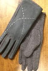 Look Saddle Stitch Suede Gloves
