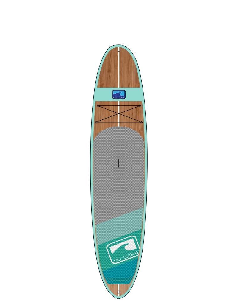 "BLU WAVE SUP Blu Wave Woody 10'6 x 31"""