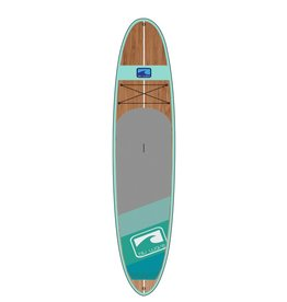 BLU WAVE SUP BLU WAVE 12' BIG WOODY - SEAFOAM