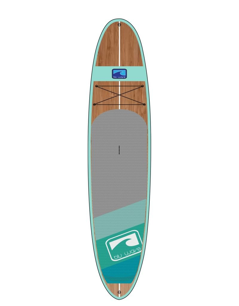 BLU WAVE SUP BLU WAVE 12' BIG WOODY - SEAFOAM