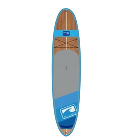 BLU WAVE SUP BLU WAVE 12' BIG WOODY - NEON BLUE