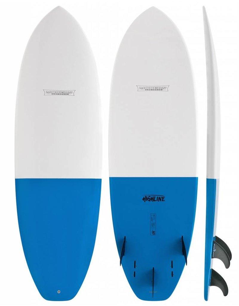 GLOBAL SURF INDUSTRIES 5'8 MODERN HIGHLINE X1 SHORTBOARD