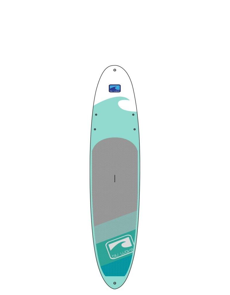 BLU WAVE SUP Blu Wave - 10'6 WAVE RIDER - SEAFOAM