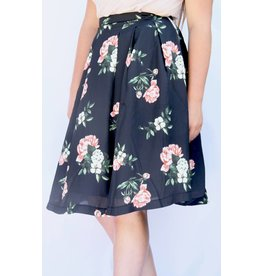 Pink Martini ROSES AND THORNS SKIRT