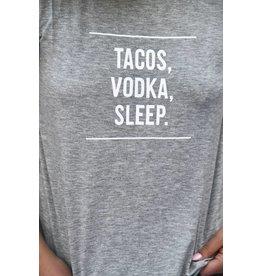 Pink Martini TACOS, VODKA, SLEEP