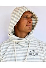 WEST SHORE STATION BEACH STRIPED HOODIE