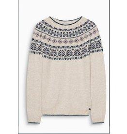 ESPRIT Jacquard wool blend jumper