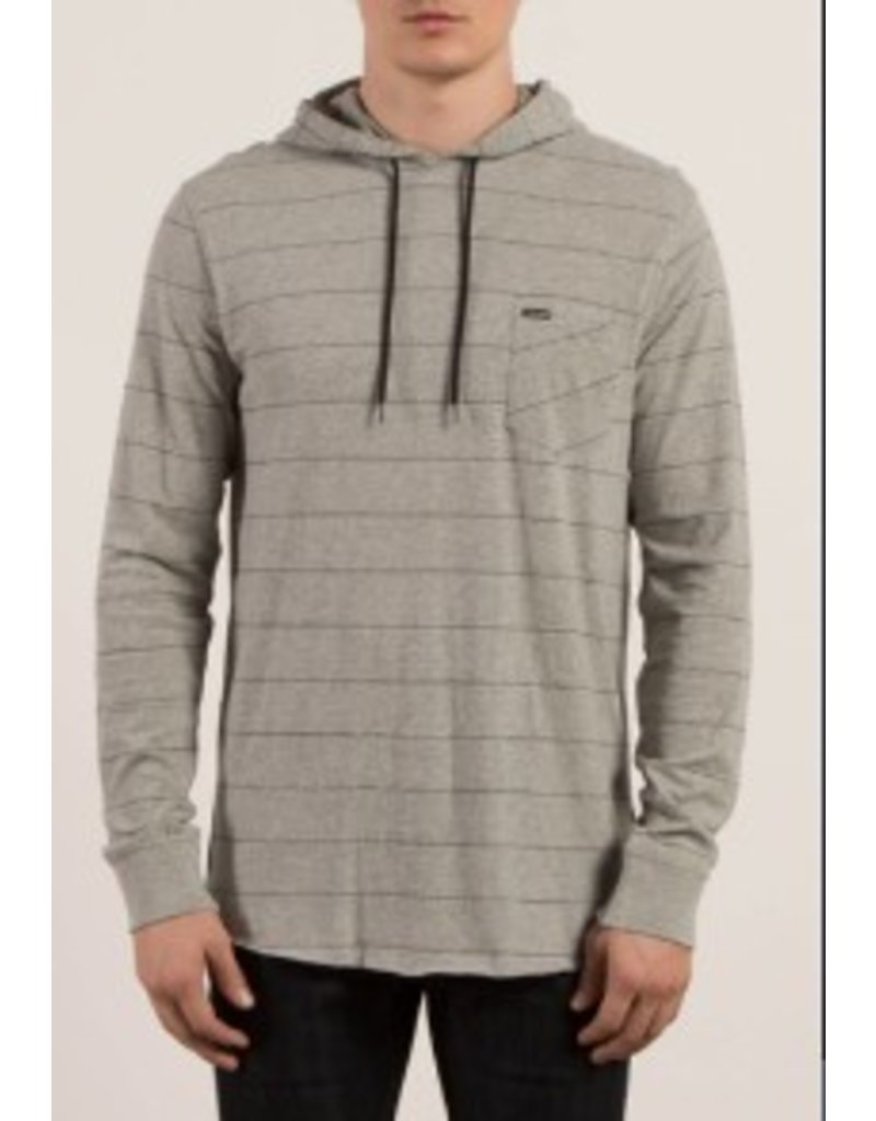 VOLCOM VOLCOMS LAYER GLITCH HOODED PULLOVER