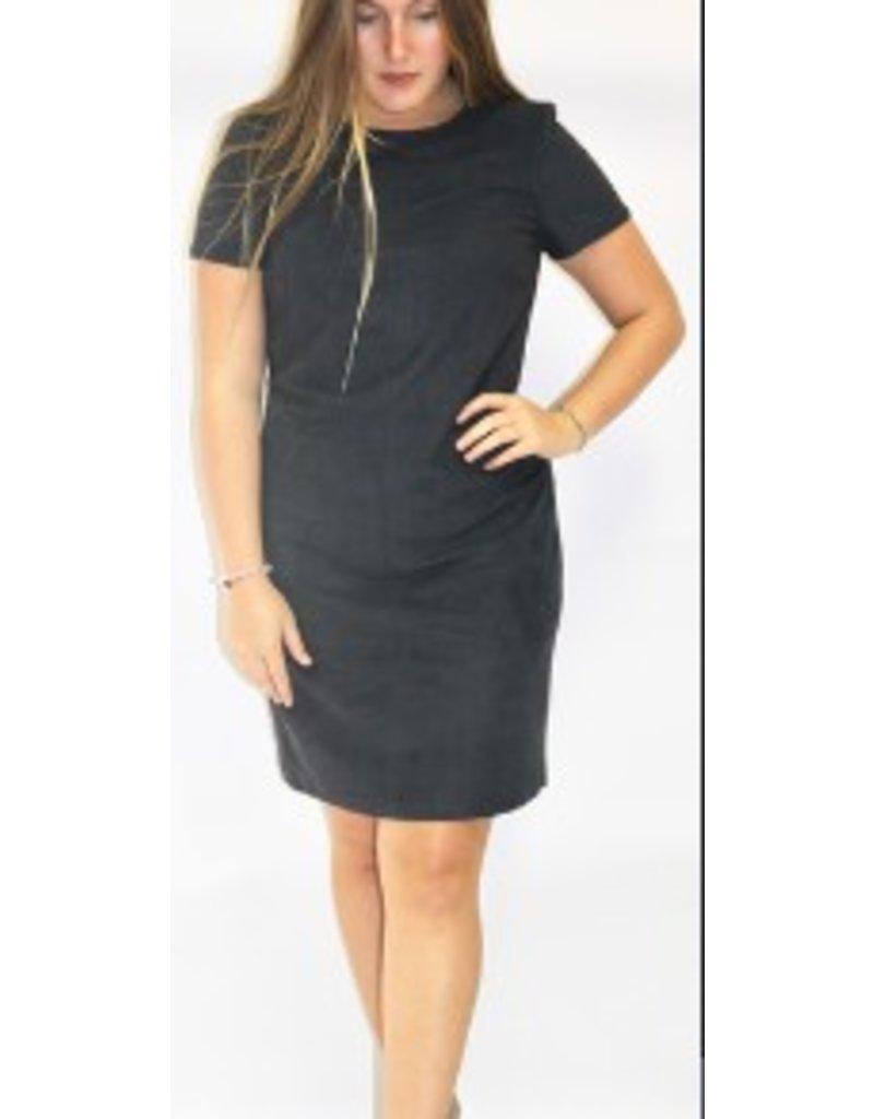 ESPRIT Stretch dress in soft faux suede
