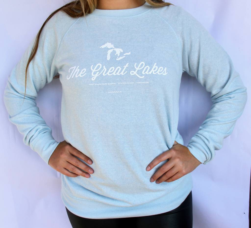 WEST SHORE THE GREAT LAKES CREW NECK