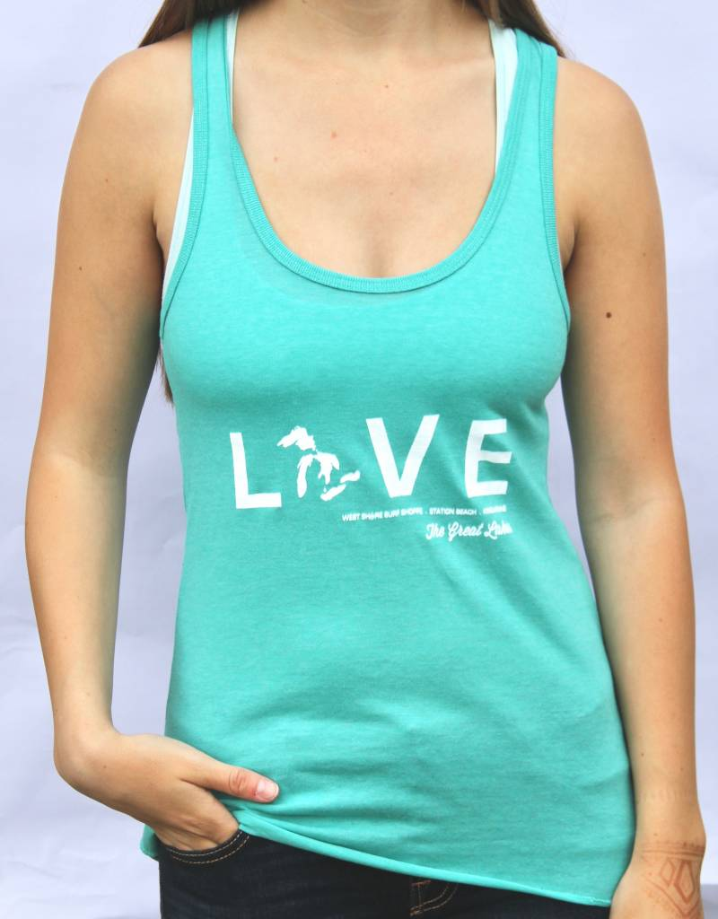 "WEST SHORE ""LOVE"" THE GREAT LAKES TANK"