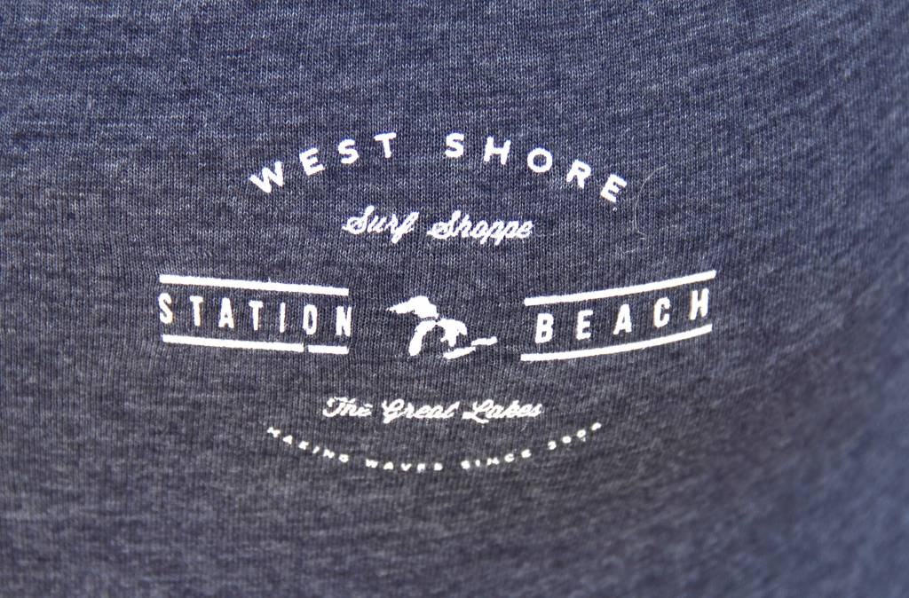 WEST SHORE STATION BEACH LOGO LONG SLEEVE