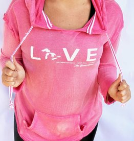 WEST SHORE WEST SHORE LOVE BEACH HOODIE